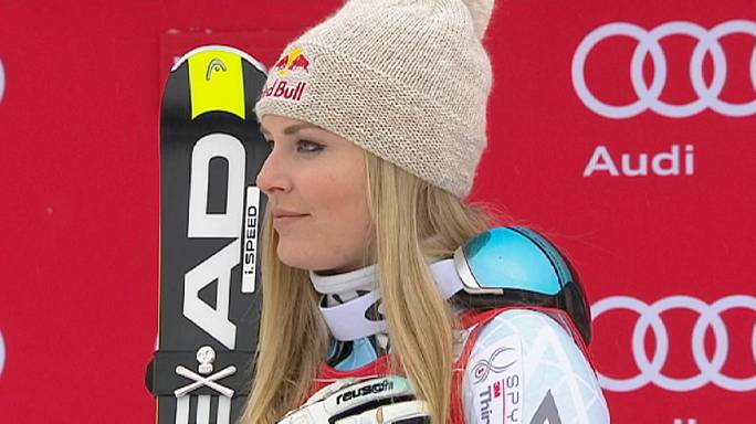 Vonn the bomb makes it two at Lake Louise
