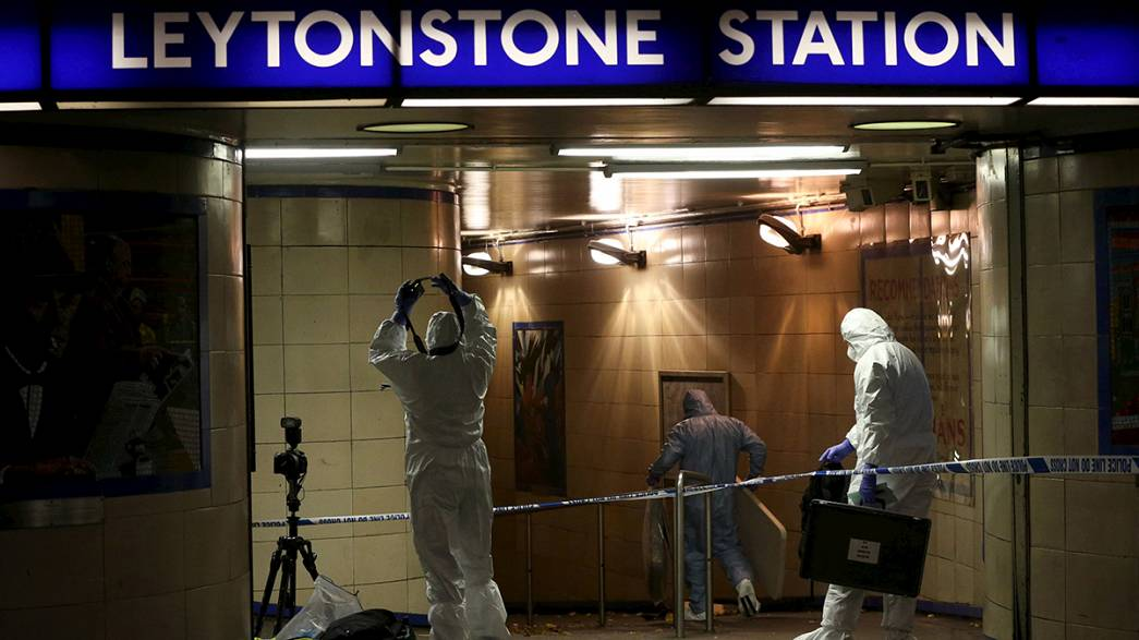 "UK police treat stabbing at metro station as a ""terrorist incident"""