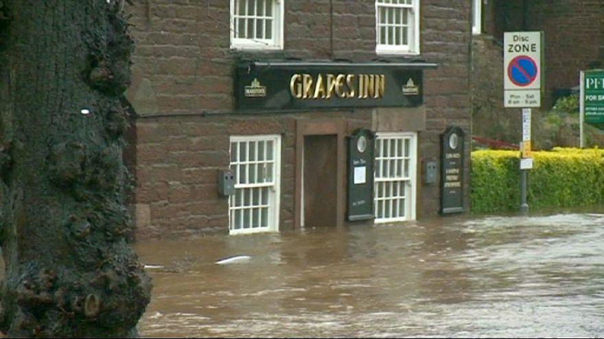 Шторм Десмонд: наводнения в графстве Камбрия