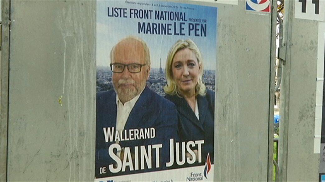 France : premier tour du scrutin test des régionales