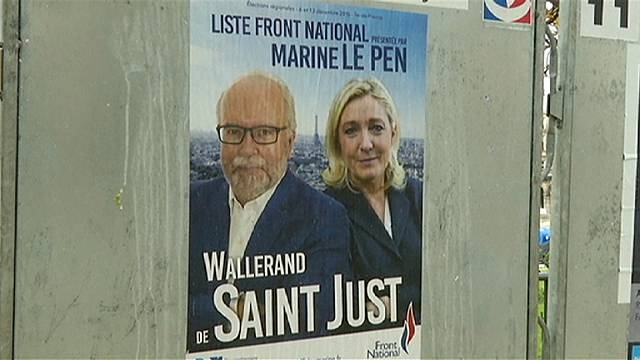 Fransa, kanlı terör saldırılarının ardından ilk kez sandık başında