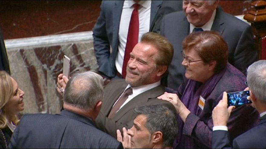 Schwarzenegger: 'İklim değişikliği bir film değil'