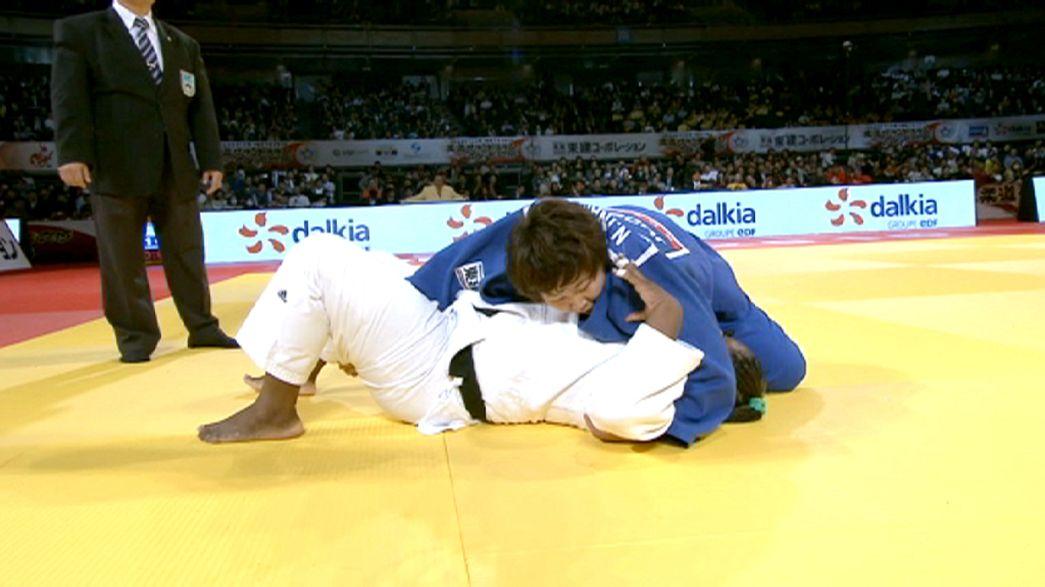 Japan's judoka shine in the Land of the Rising Sun