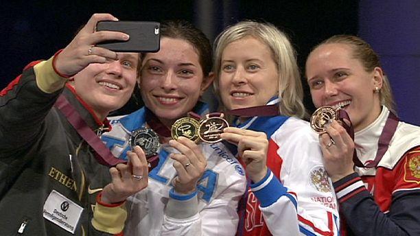 Mara Navarria overcomes grief to win fencing Grand Prix in Doha