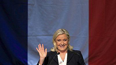 El Frente Nacional, el partido más votado en Francia según los primeros sondeos