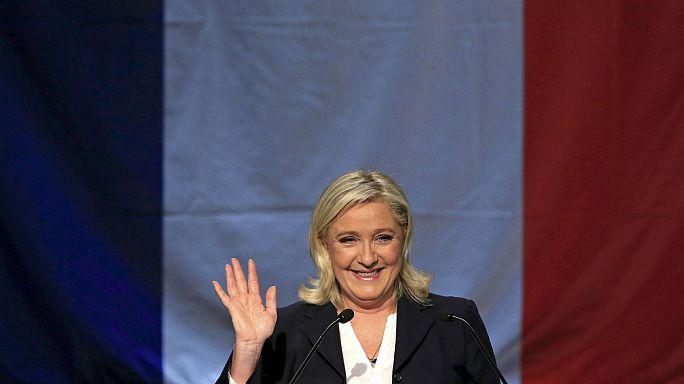 Fransa'daki bölgesel seçimlerde aşırı sağcı Ulusal Cephe'nin zaferi