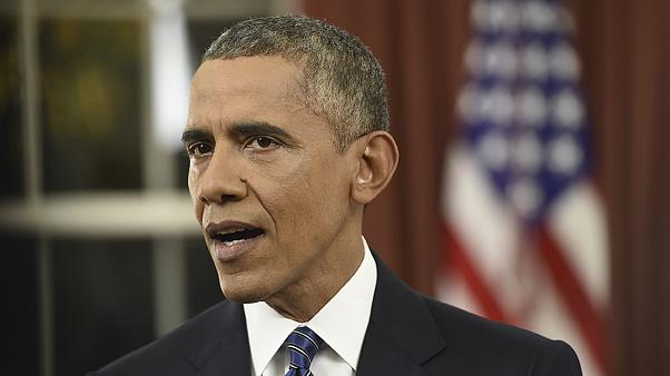 Obama vows to keep Americans safe in rare Oval Office address