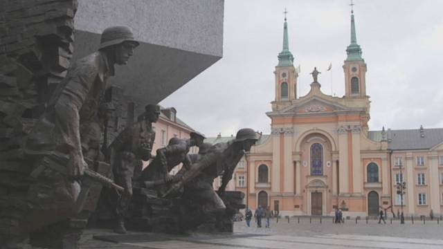 Warsaw a city with a booming culture and economy and a message