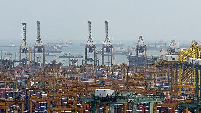 Konzentration bei Containerschiffen