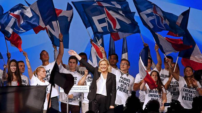 National Front's rise to France's 'top party'