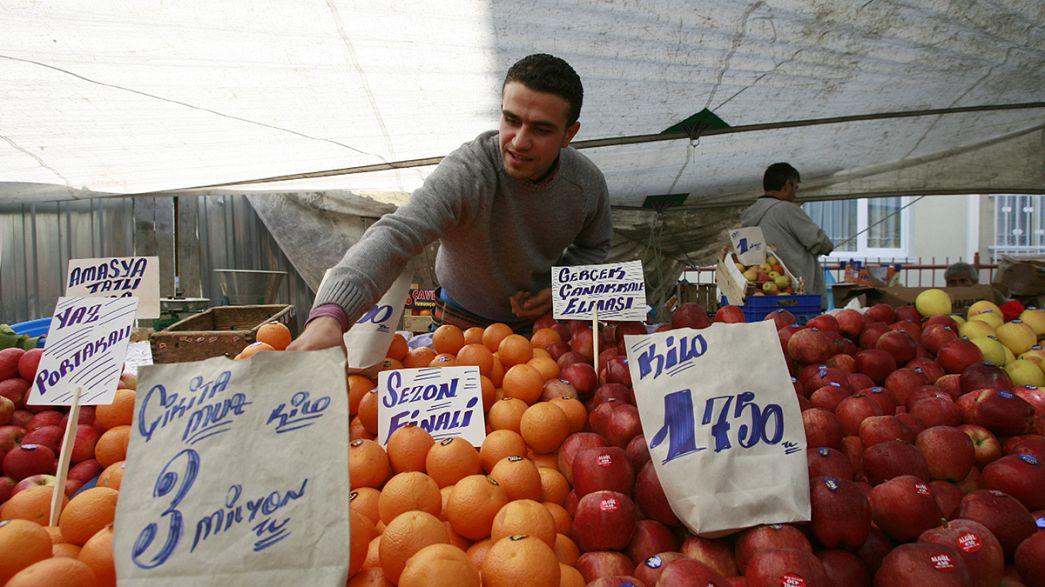 Sanções russas devem penalizar crescimento da economia turca