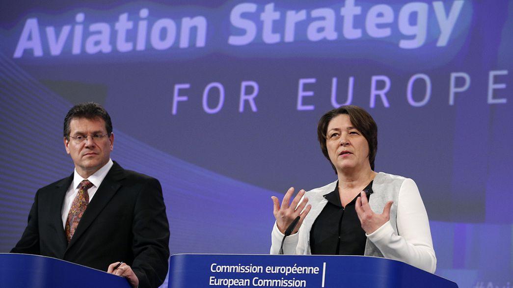 Comissão Europeia apresenta nova estratégia para setor da aviação