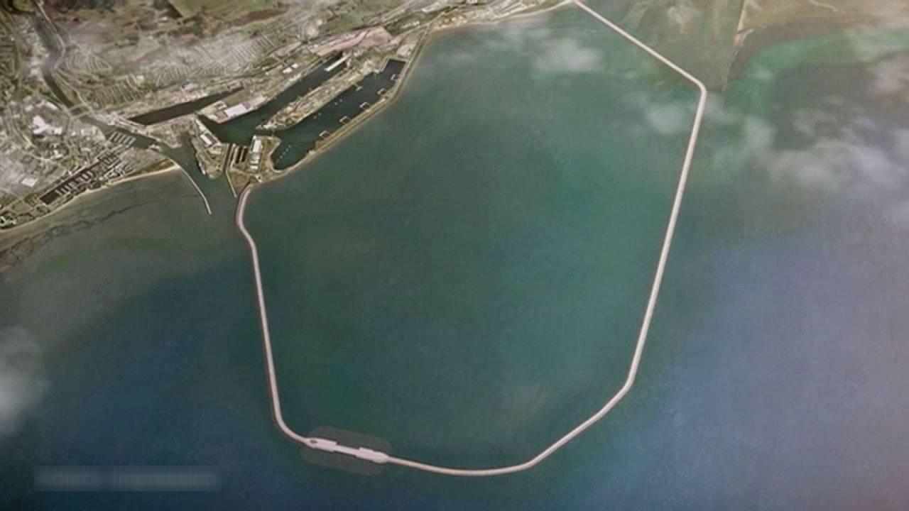 Σουόνσι: Τεχνητή λιμνοθάλασσα θα παράγει ενέργεια