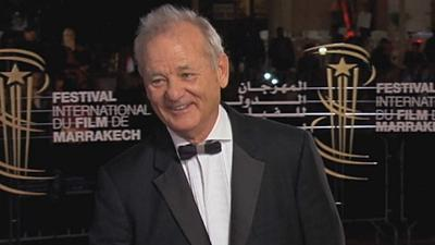 "Bill Murray ""arrasa"" em Marraquexe"