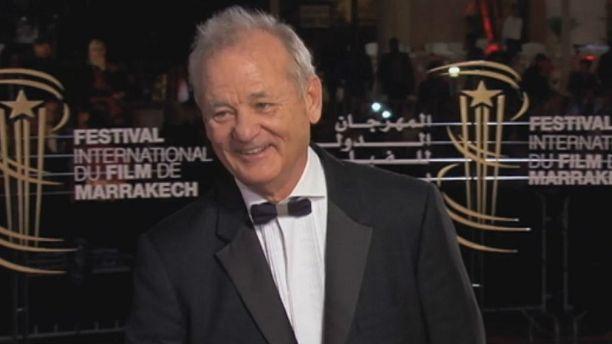 Bill Murray makes waves at Marrakech film festival