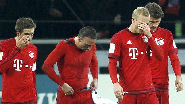 El Bayern de Múnich sufre su primera derrota en la Bundesliga
