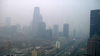 "Smog in Peking: Alarmstufe ""Rot"" ausgerufen"