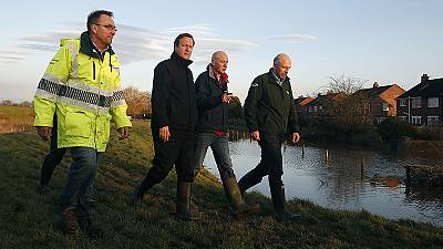 UK: flood defences criticised after storm leaves areas under water