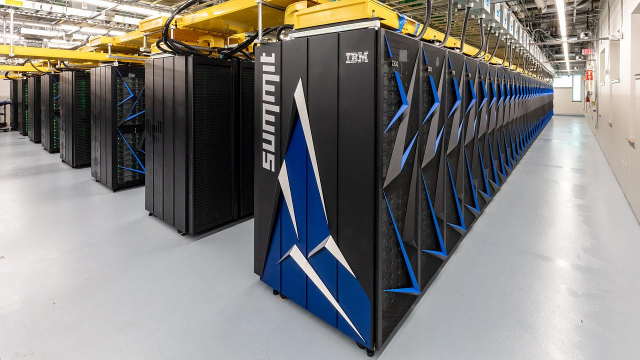 Image: Summit supercomputer