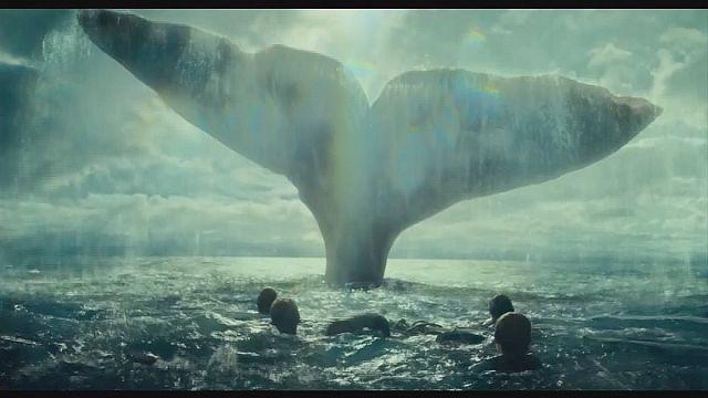 """كريس هيمسورث يواجه حيتانا خيالية """"في قلب البحر"""""""