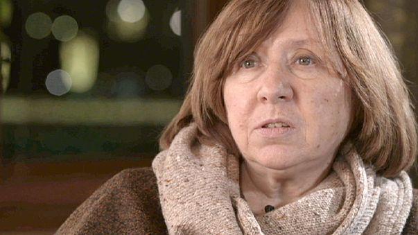 """Svetlana Aleksiévich: """"Todos los escritores rusos que han ganado el Nobel han sido perseguidos en Rusia"""""""