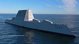 Kifutott a valaha épült legnagyobb amerikai rombolóhajó