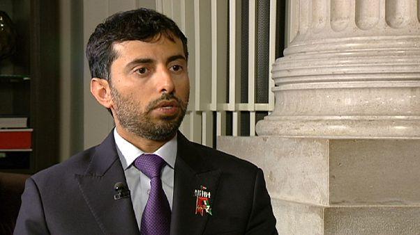 """وزير الطاقة الإماراتي ليورونيوز:""""الأزمات تشكل لنا فرصا جديدة ولن نعتمد على النفط"""""""