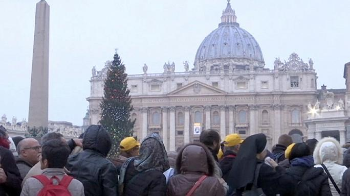 Pilgrims walk long distances to the Vatican for Holy Year