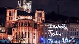 Lyon's festival of lights remembers Paris victims