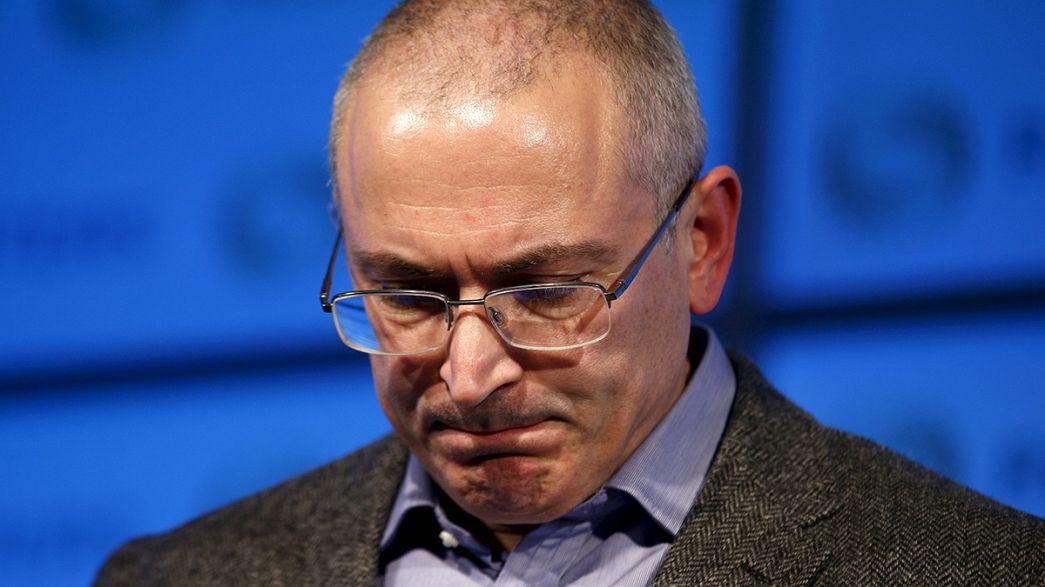 Chodorkowski in Mordfall nach Moskau vorgeladen