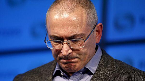 Opositor Khodorskovski de novo na mira da justiça russa