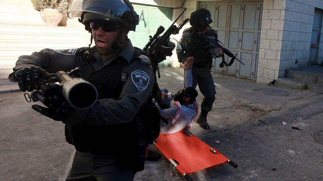 Izraeli katonák lelőttek egy palesztin tüntetőt