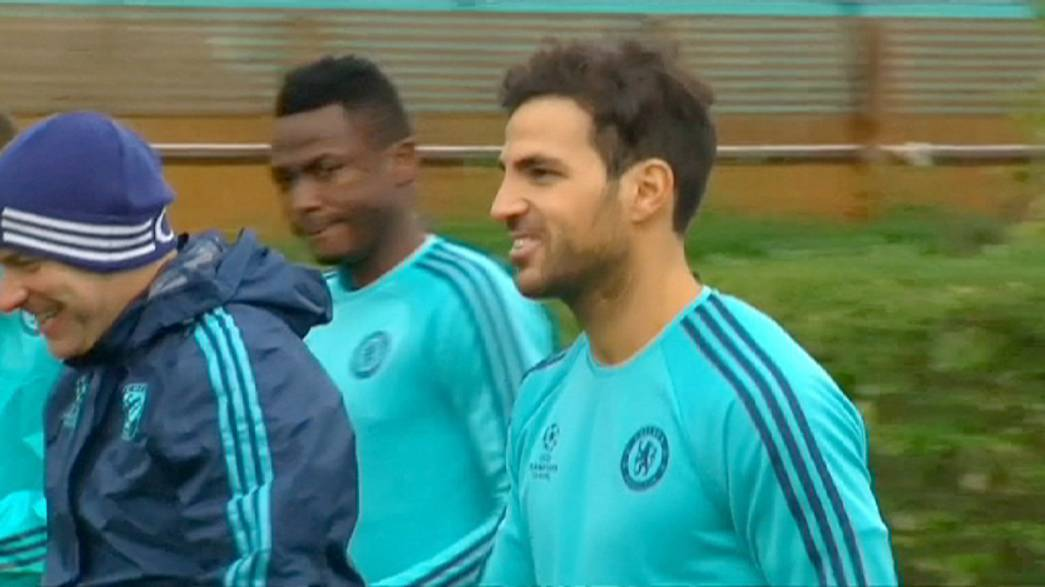 Chelsea and Arsenal face crucial Champions League ties