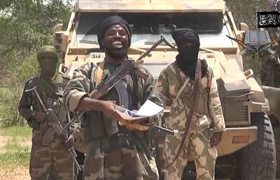 Abubakar Shekau is seen in a 2014 video.