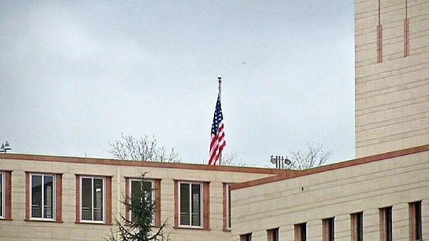 """قنصلية الولايات المتحدة الأمريكية في أنقرة موصدة الأبواب بسبب """"تهديد أمني"""""""