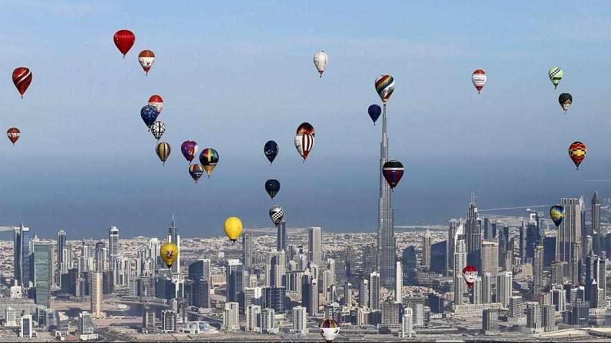 Dubai'deki Dünya Hava Oyunları'nda nefes kesti