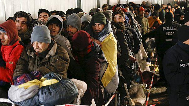 Alemanha recebeu um milhão de refugiados este ano