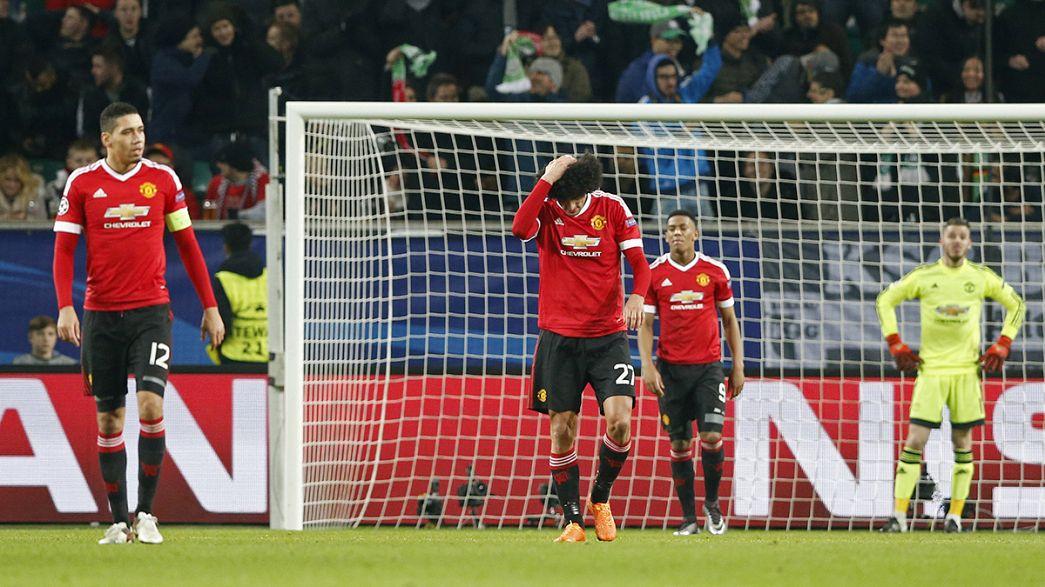 El Manchester United dice adiós a la Champions League