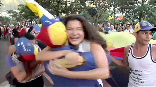Venezuela'da muhalefetin tarihi zaferi