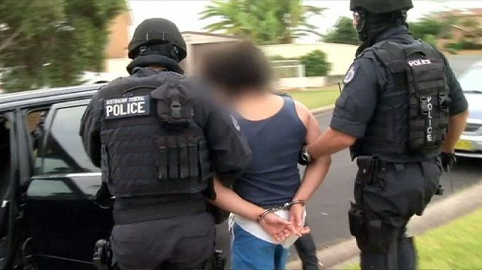 Avustralya'da terör operasyonu