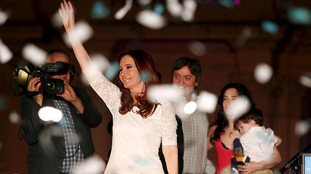 Argentina's Christina Fernandez bids farewell as president