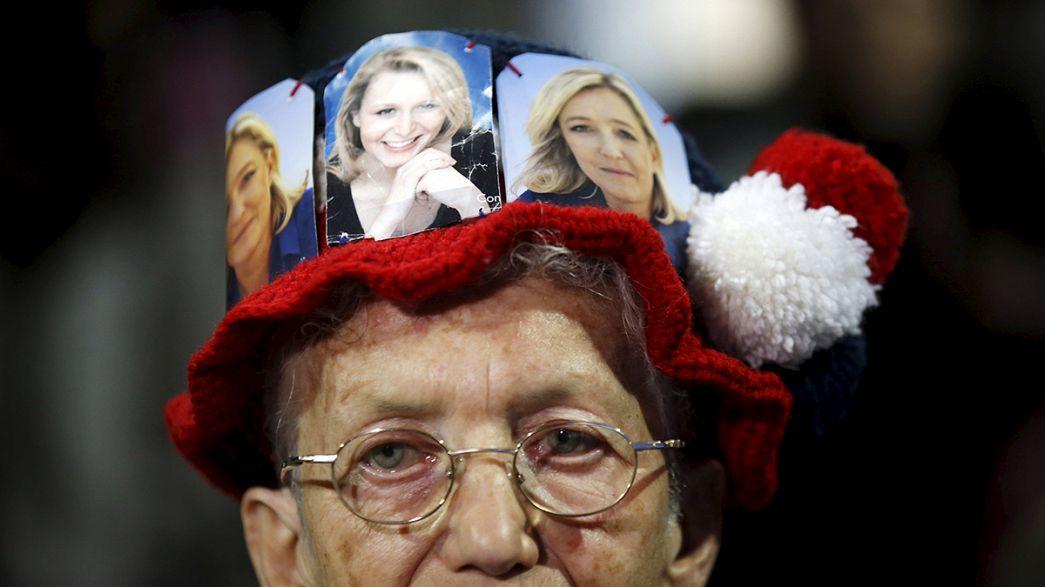 Una encuesta señala que el FN no ganará en dos circunscripciones clave en la segunda vuelta de las regionales francesas