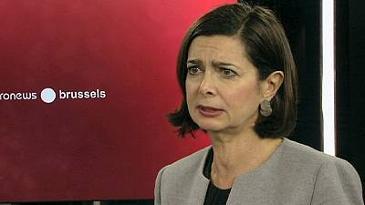 """Laura Boldrini: """"Debemos avanzar hacia una unión federal de Estados"""""""
