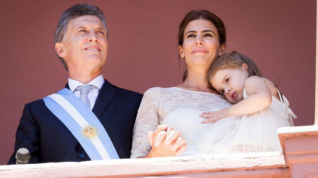 Macri tomou posse como presidente da Argentina