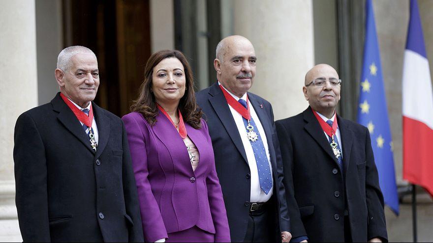 """Nobel ödüllü """"Tunus Ulusal Diyalog Dörtlüsü""""nün demokrasi çağrısı"""