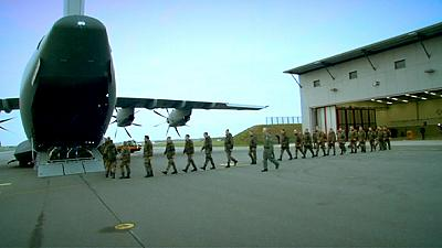 Dos de seis aviones alemanes parten a Turquía para la  lucha contra el terrorismo en Siria