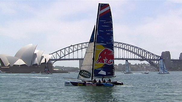 Extreme Sailing Series Sydney'de nefes kesti