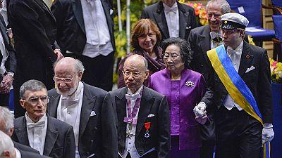 Dix lauréats reçoivent leur prix Nobel à Stockholm