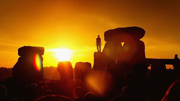 Image: Day Of Summer Solstice Celebrated In Stonehenge