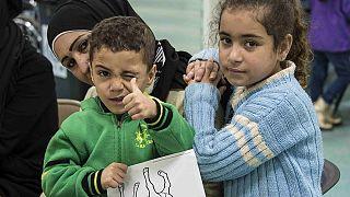 استقبال از اولین گروه پناهجویان سوری در فرودگاه تورنتو
